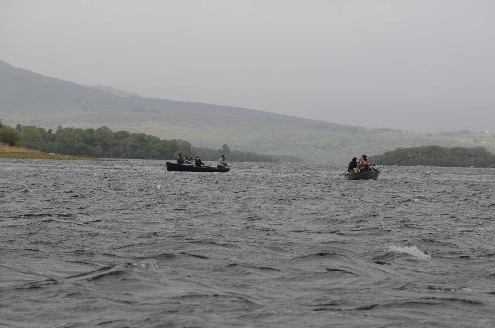 Fishing Lough Corrib